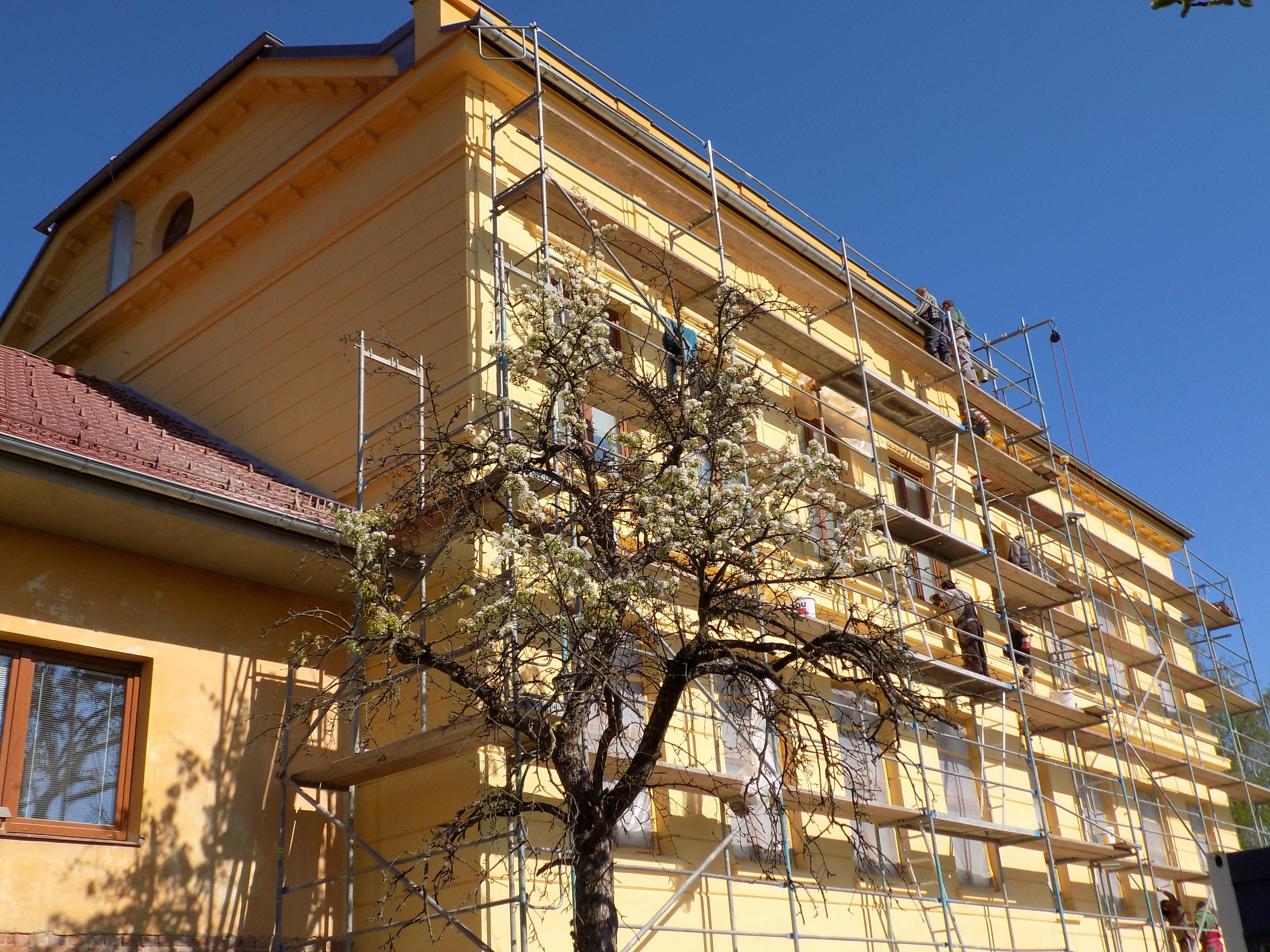 oprava fasády MŠ