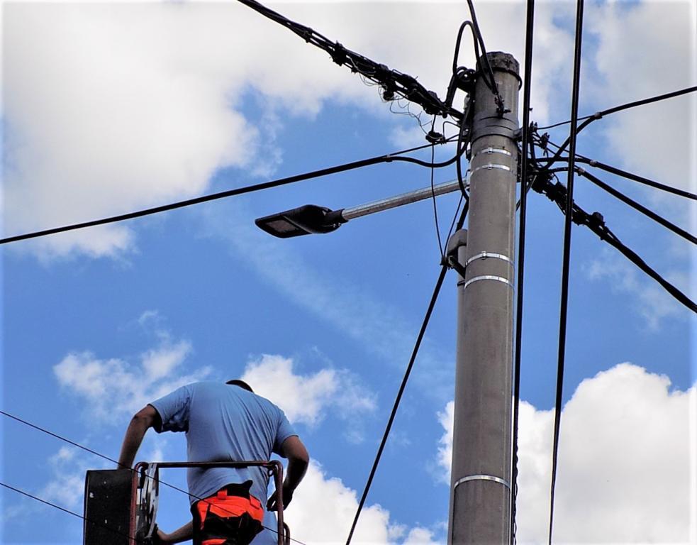 rekonstrukce veřejného osvětlení
